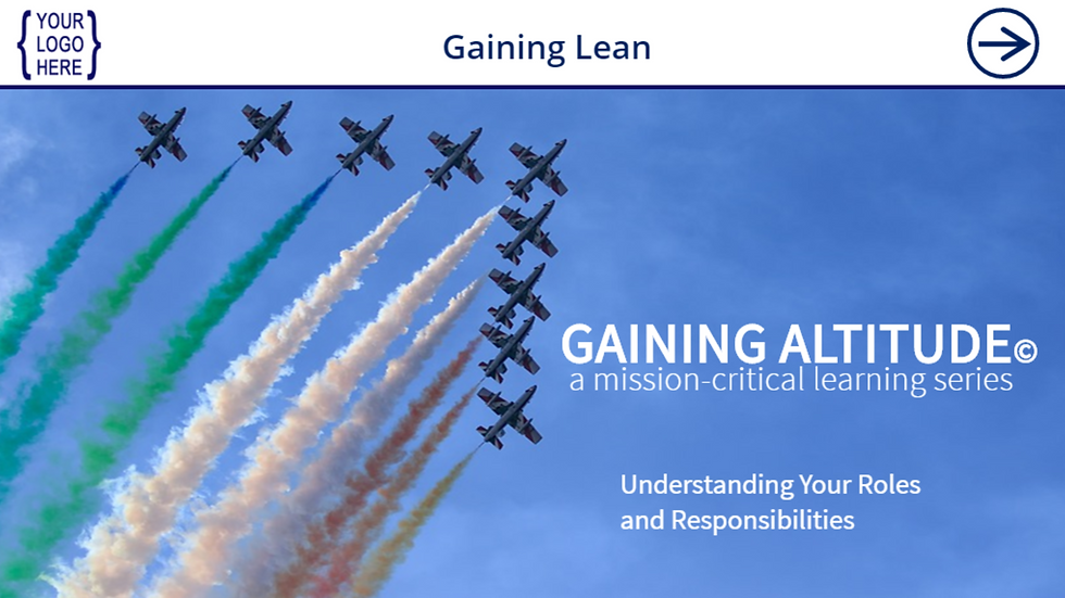 Gaining Introduction to Lean eCourse