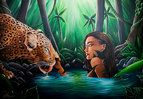Into the Leopards Eyes