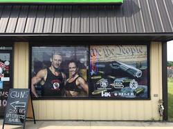 Gym Ratz Window Perf