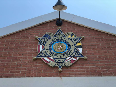 HDU Carved Signage - St. Mary's County Sheriff's Office