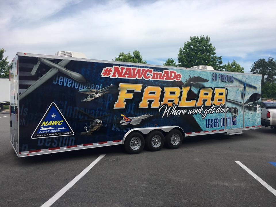 Trailer Wrap for FabLab
