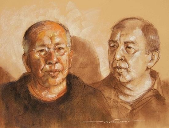 Flattmann-Two Portraits