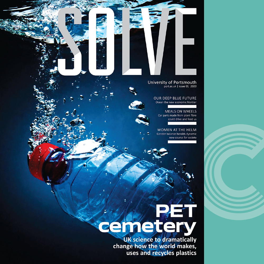 Picture of Solve magazine for Portsmouth University