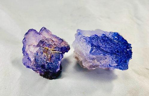 Purple Fluorite Cluster Set
