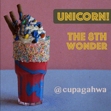 Cupagahwa | Unicorn drink stop motion