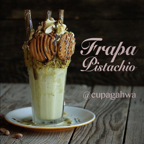 Cupagahwa | Frapa Pistachio drink video