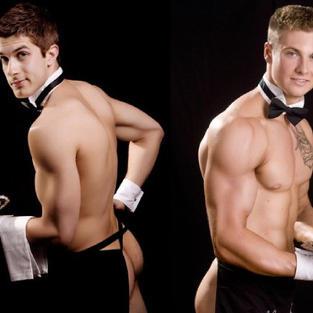 hunky waiters