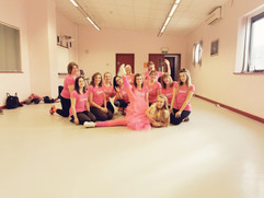 Grease hen dance party