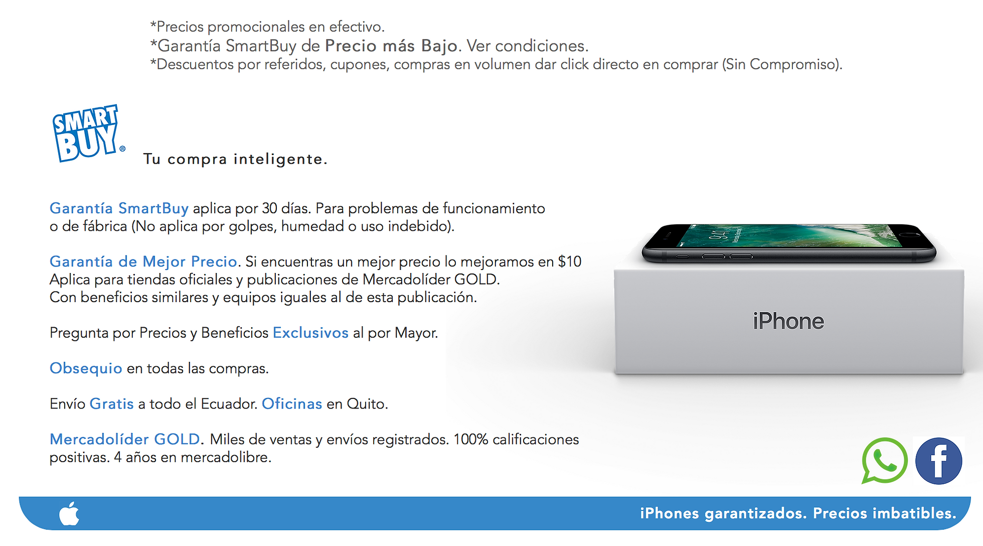 iphone Ecuador 099-370-5389