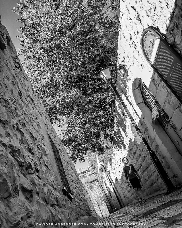 'Abuhav Alley' - Shot along an #oldcity