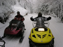 Snowmobilers Welcome!
