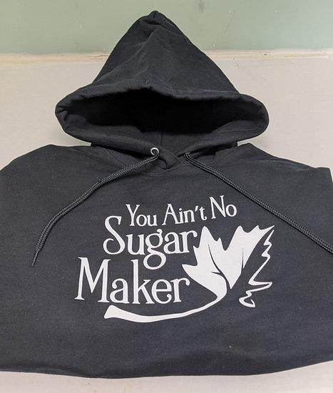 Black Fleece Hooded Sweatshirt