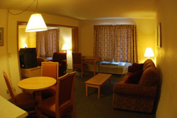 Luck Country Inn Hotel Room