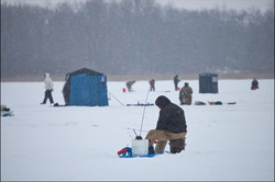 Ice Fishing with 1mile!
