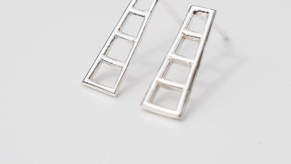 Silver Ladder Studs