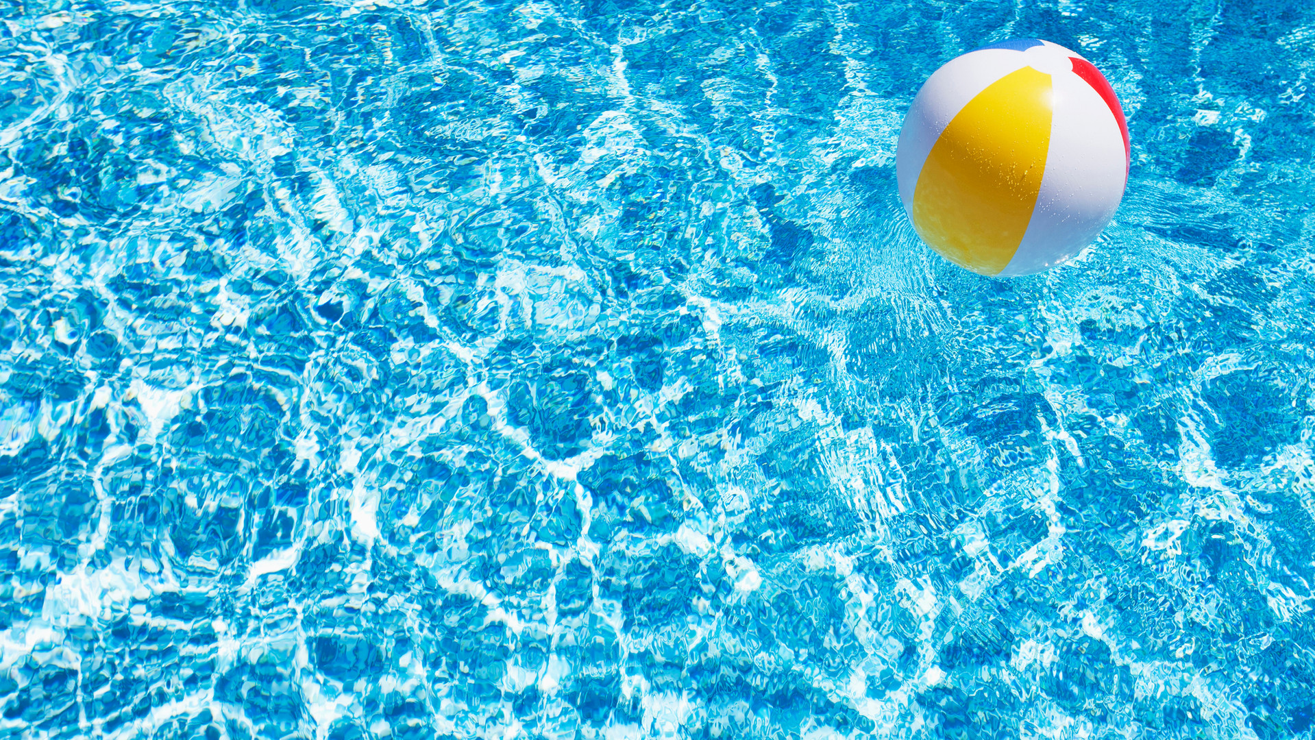 Beach Ball in Pool - pool equipment