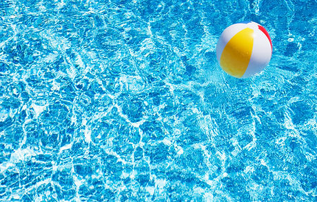 Beach Ball in Pool