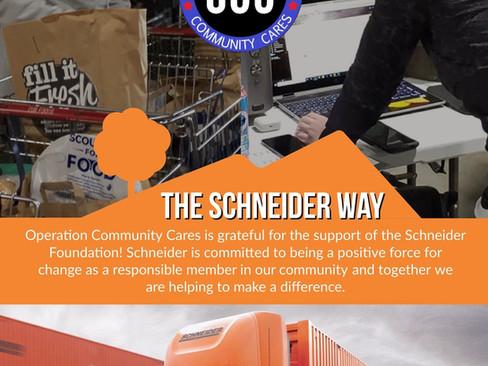 OCC & The Schneider Way - Stand Behind Brown County Community