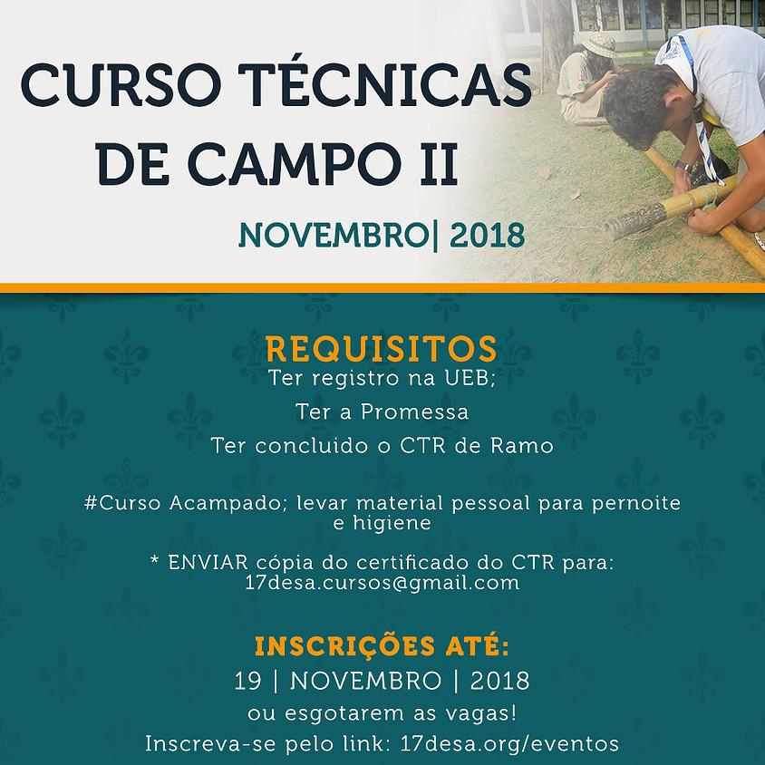 CURSO TÉCNICAS DE CAMPO II