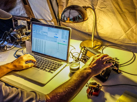 Laptop & Radio
