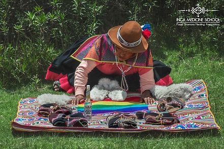 Mesa altar shaman healing Inca Medicine