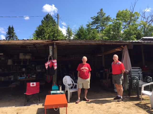 2017 Yard Sale Tom and John