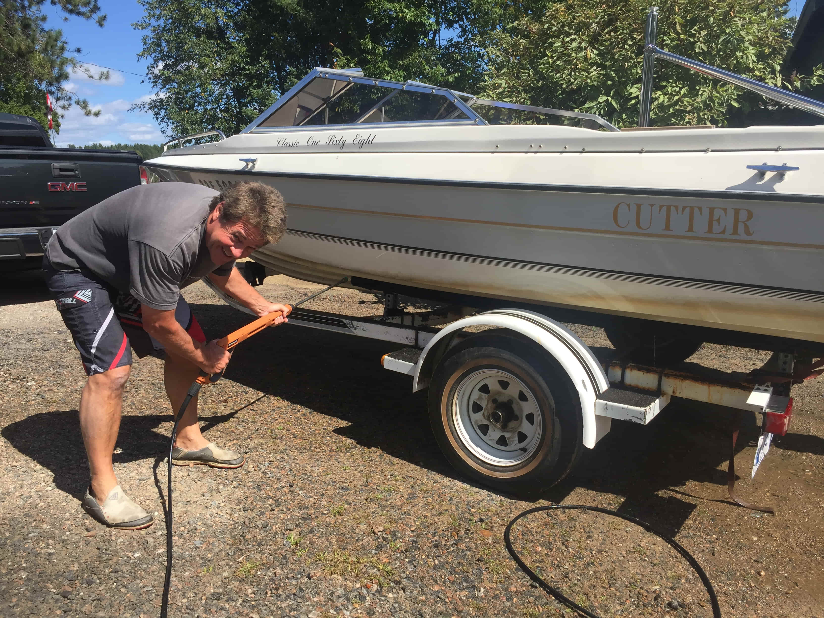 First Boat Washer User!