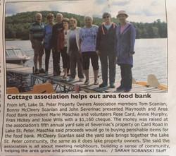 LSPPOA Helps Food Bank