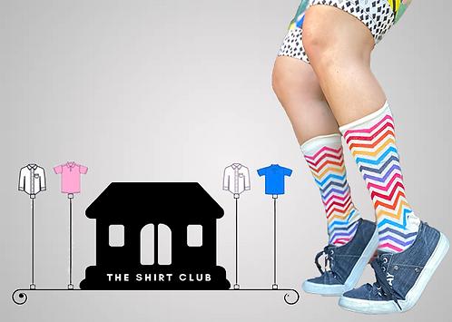 ZigZag It Shirt Club Socks