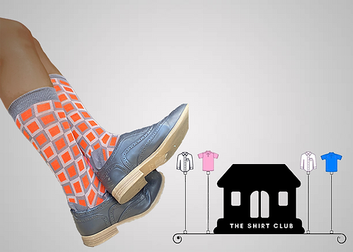 Square it Shirt Club Socks