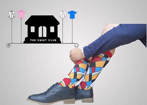 Colourful Shades Shirt Club Socks