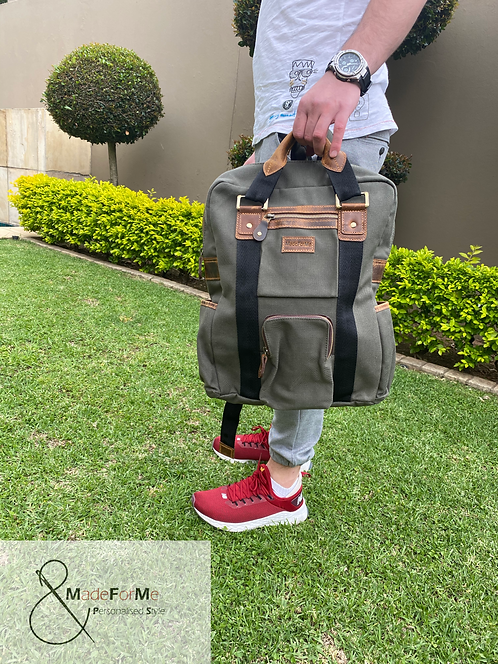 MadeForMe Canvas & Leather Bags