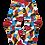 Thumbnail: Colourful Shades Shirt Club Socks