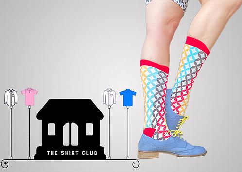 Diamond Lights Shirt Club Socks