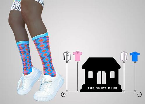 Like Diamonds Shirt Club Socks