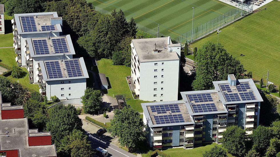 Standort: Breitwiesstr. 9-13 & 21-25, 8135 Langnau a. Albis