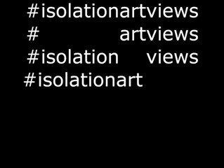 #isolationartviews photo book is here!