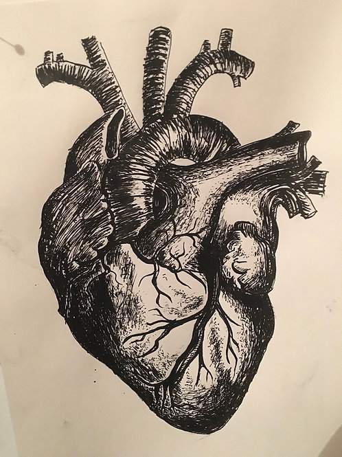 'Heart' (2018) limited edition Giclee print