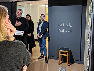 Hole in your soul: gallery conversation's