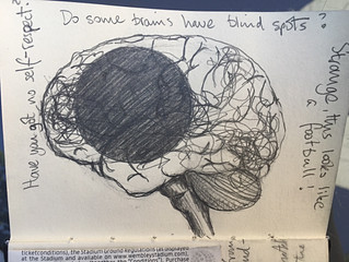 Do some brains have blind spots?