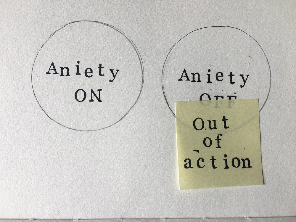 Anxiety on/off button, 2018