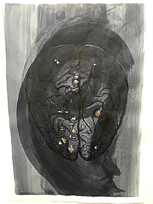 'Brains #3' (2016) limited edition Giclee print