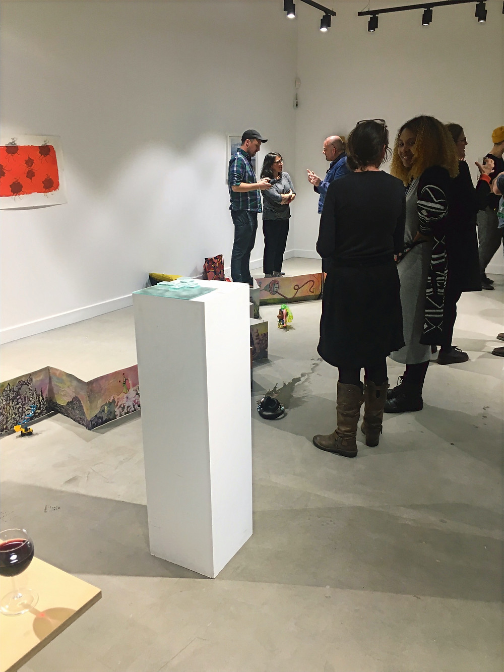 Freelands Gallery pop up exhibition