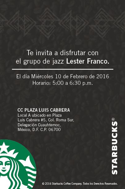 Starbucks Luis Cabrera