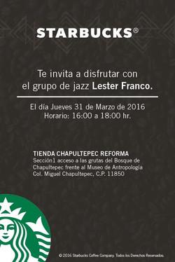 Starbucks Chapultepec