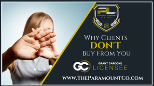 Why Clients Don't Buy From You