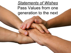 Statements of Wishes