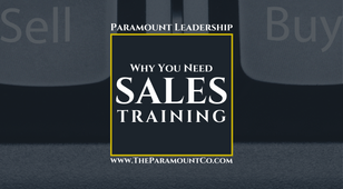 Why You Need Sales Training