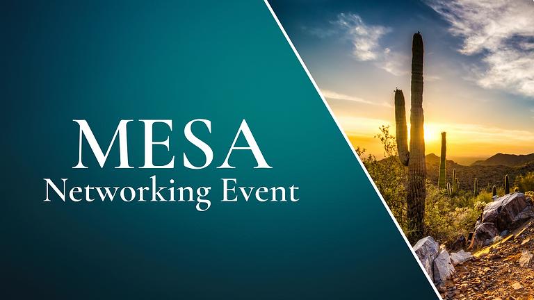 October Mesa Networking Event