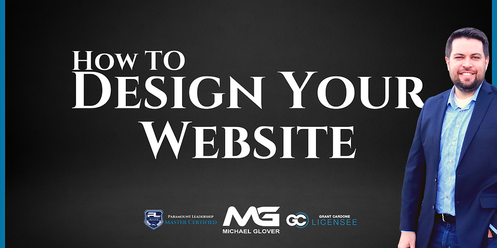How To Design Your Website